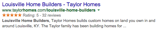 louisville home builder title tag for local seo