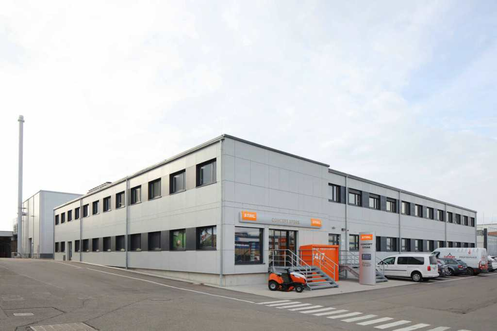 , STIHL, Waiblingen, Heinkel Modulbau