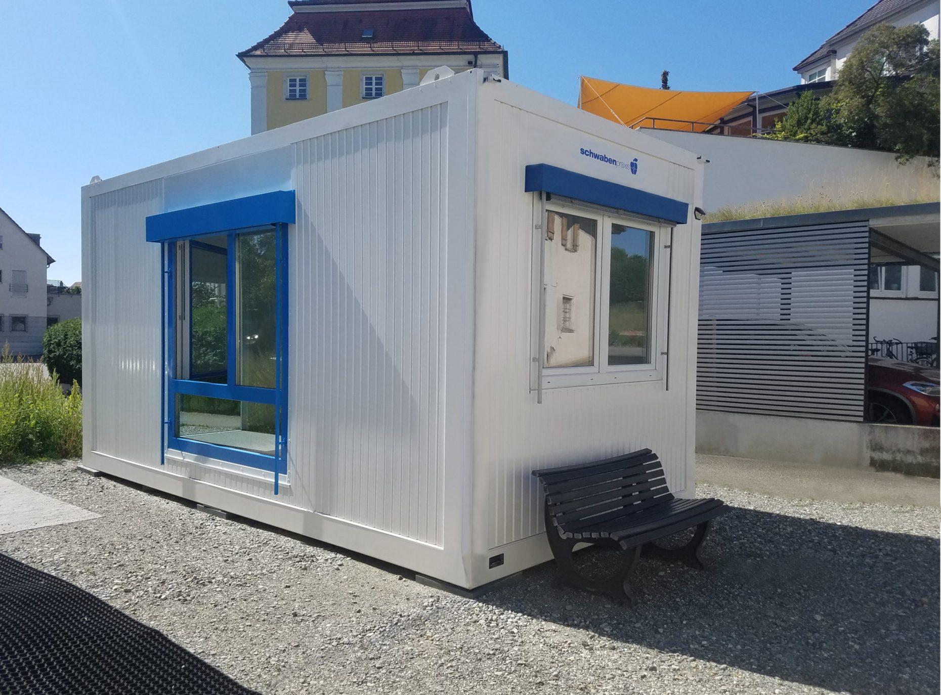 , Mehr Platz für die SchwabenPraxis, Bad Schussenried, Heinkel Modulbau