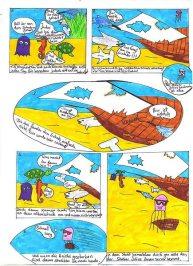 Kim Nowack, 6a, Comic