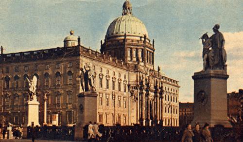 Das Berliner Schloss im Jahre 1939