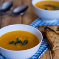 Roasted Butternut Soup