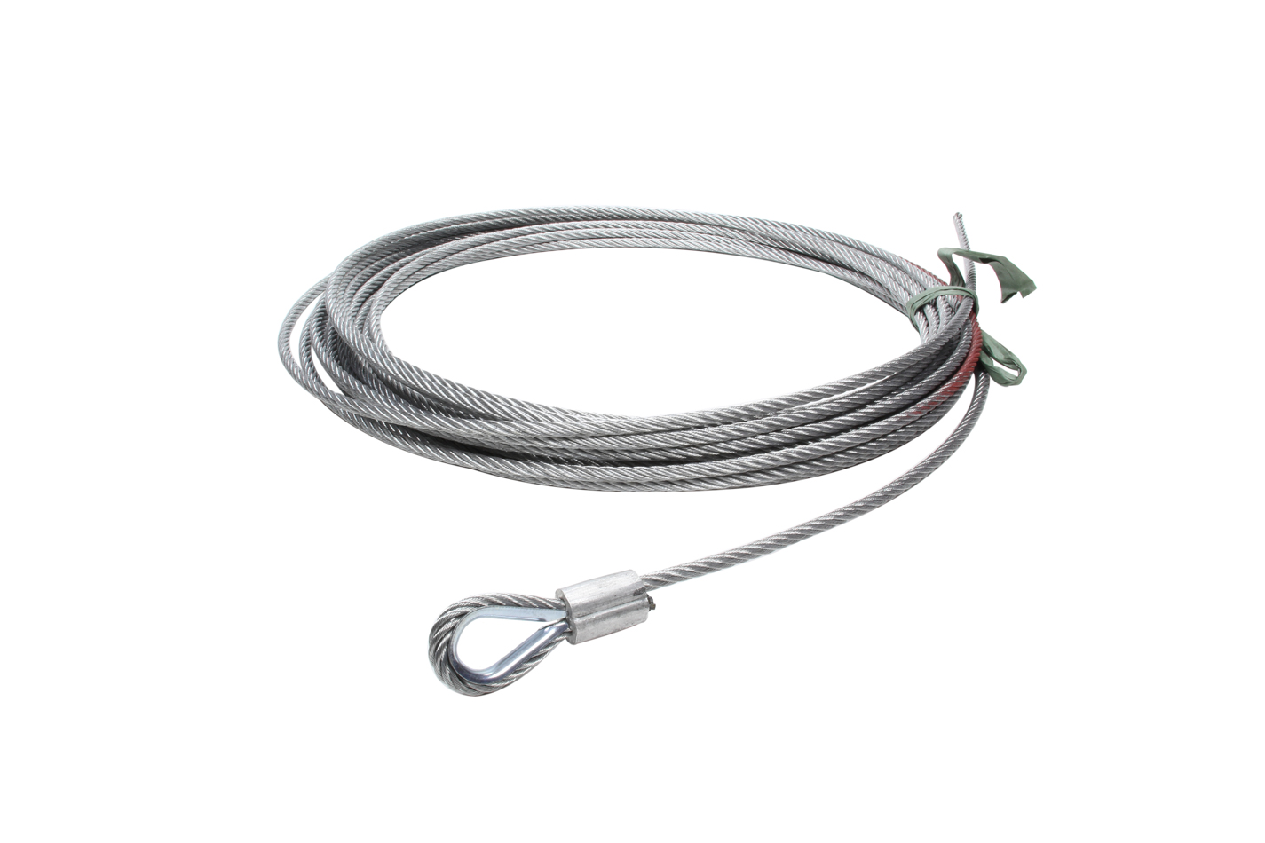 Mile Marker 3/8 x 100 Synthetic Rope Assembly 19-52038-100C