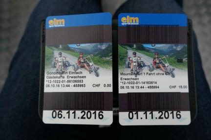 mit dem Gondeli hoch auf die Ampächli-Alp