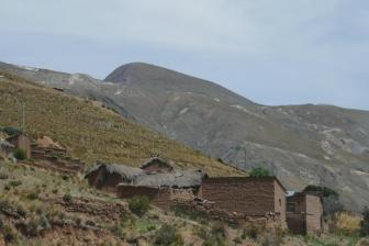 alte Inca-Siedlung auf 4300m
