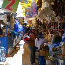 Hexenmarkt auf El Alto