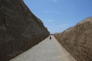 Innenmauern 4 m hoch