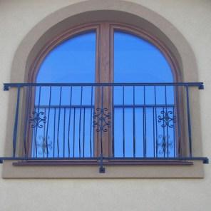französischer Balkon aus Stahl, verzinkt, pulverbeschichtet, Polen