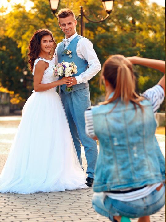 Hochzeitsfotos und Hochzeitsvideo die schnsten Momente