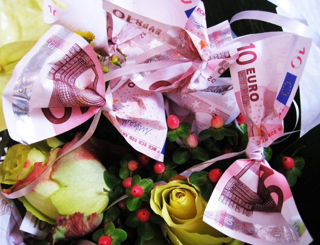 Hochzeitsgeschenke Geld Originell Verpackt Hochzeitsgeschenke