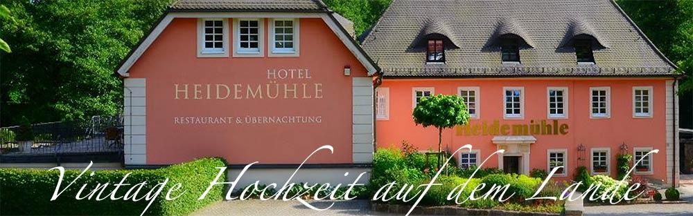 Romantik Hotel Heidemhle  Hochzeit feiern in Rabenau