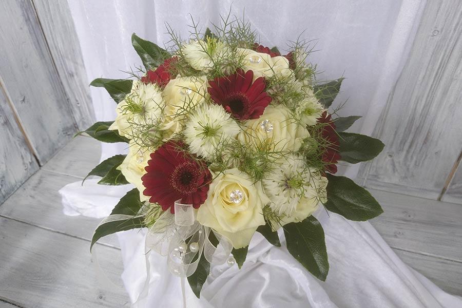 Oppermann GartenCenter Leipzig Brautfloristik zur Hochzeit