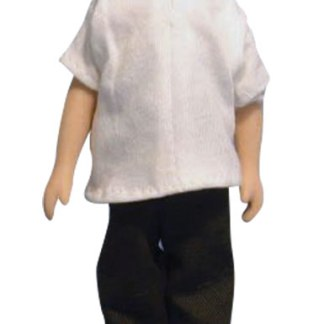 DP124 - 1:12th scale Dolls House Doll Modern Jeans Man
