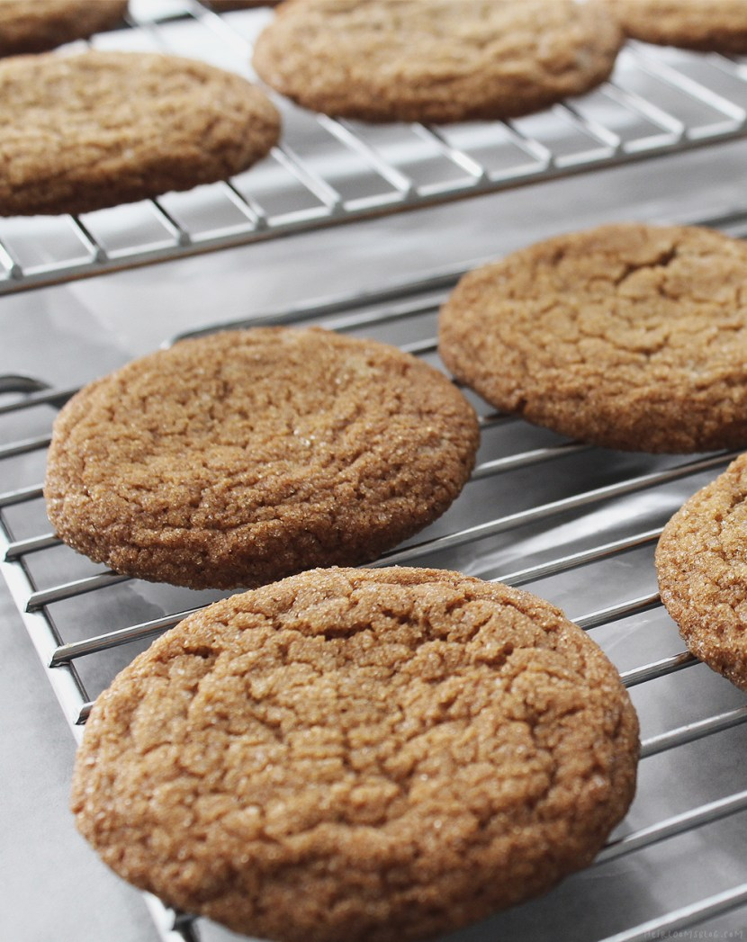 Birmingham Lemon-Ginger Cookies