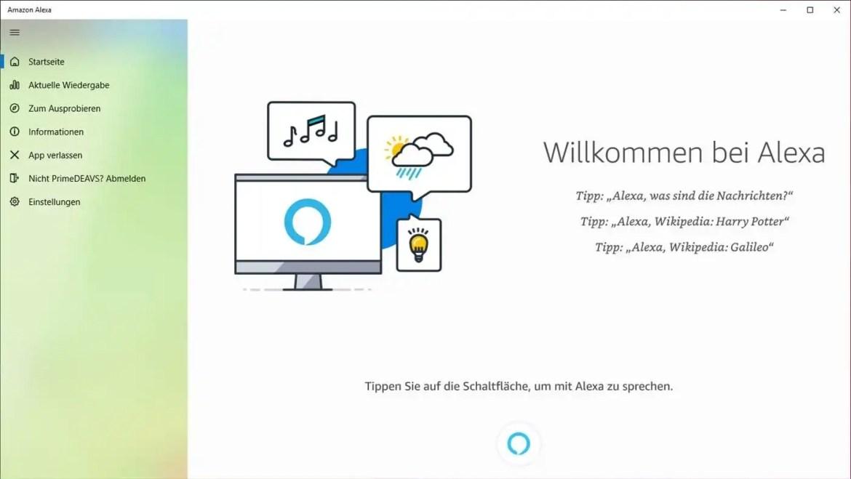 La nueva aplicación de Alexa para Windows 10 está disponible de forma gratuita en Microsoft Store.