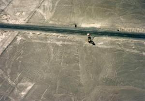 ミラドールとナスカの地上絵」
