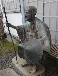 「おくの細道」出発前の松尾芭蕉