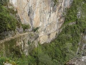 マチュピチュの「インカ道」