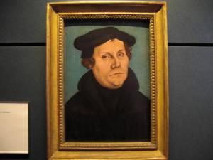 クラナッハのルター肖像画