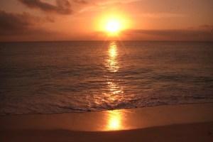 「セイシェルの夕陽」