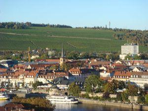 フランケンワインの産地ヴュルツブルク