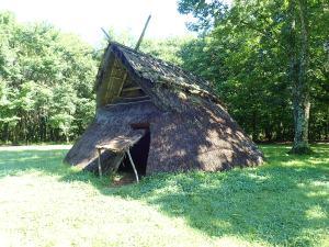 縄文時代の竪穴住居
