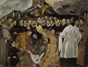 サント・トメ教会『オルガス伯の埋葬』
