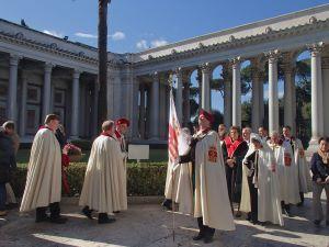 サン・パオロ大聖堂の儀式