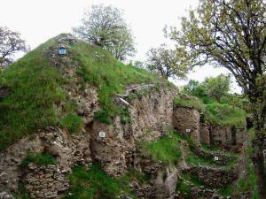 トロイ遺跡の年代層