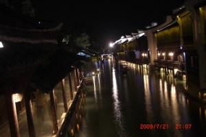 素晴らしい烏鎮の夜景
