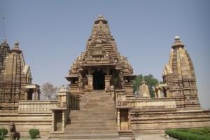 世界遺産のカジュラホ寺院