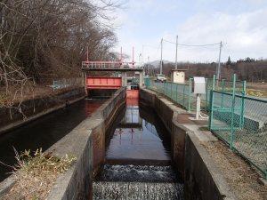 第一分水路取り入れ口「熱海疏水橋」