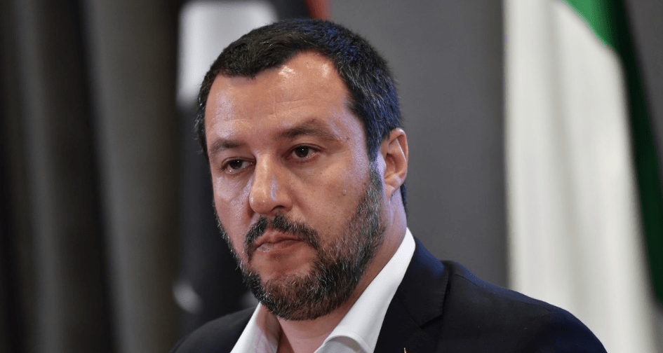 Italy's Populist Champion Salvini Will Do Two Things: Kidnap 150 People, Veto E.U. Budget