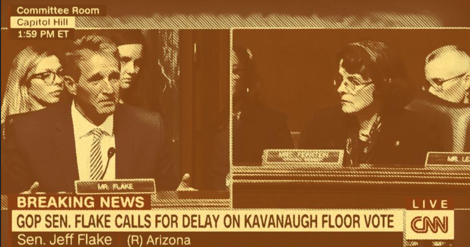 In Dramatic Last Minute Turn, Jeff Flake Calls For Kavanaugh Delay, FBI Probe
