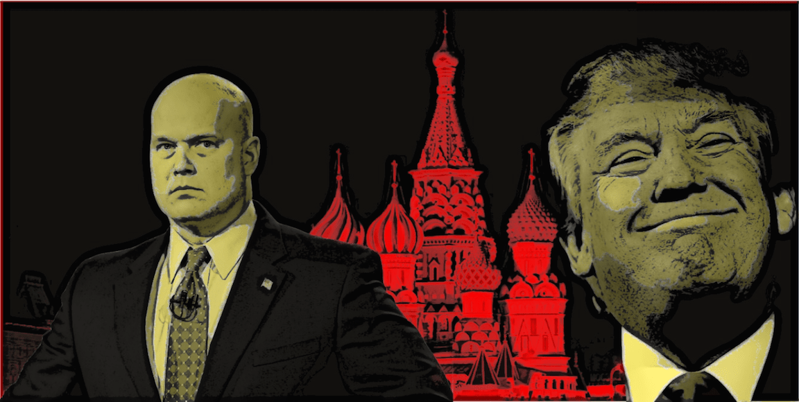 'Nobody Knows What Was Said': Matt Whitaker Privately Counseled Trump Behind Backs Of Sessions, Rosenstein