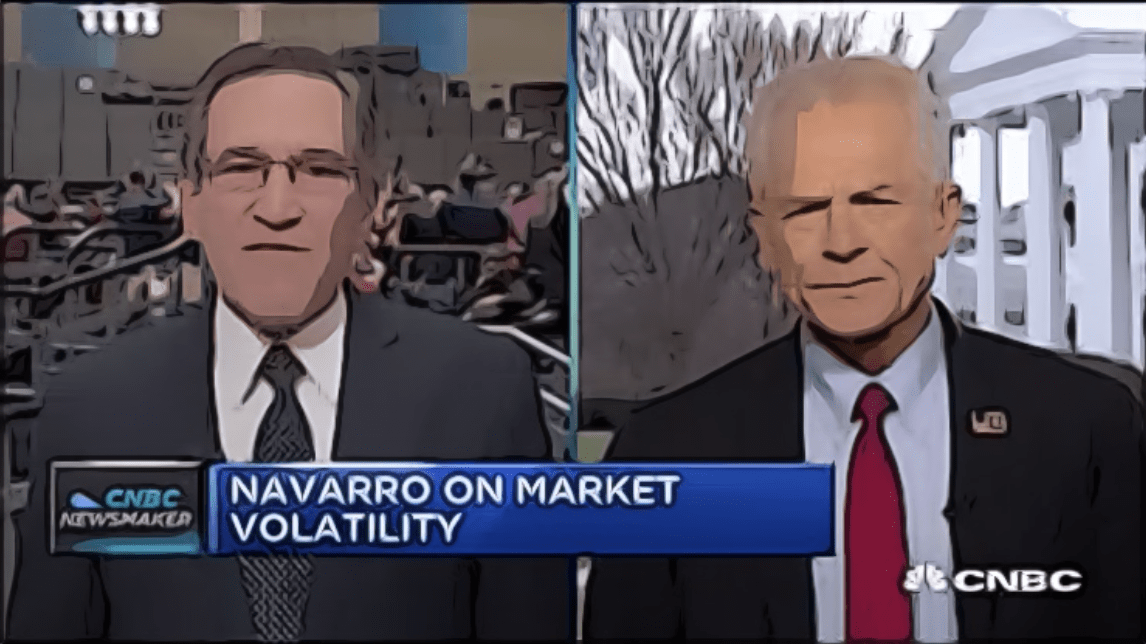 Peter Navarro Showed Up On CNBC Monday And It Was A Disaster