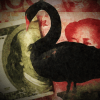 Coronavirus Black Swan Infects China's Yuan To Start Week