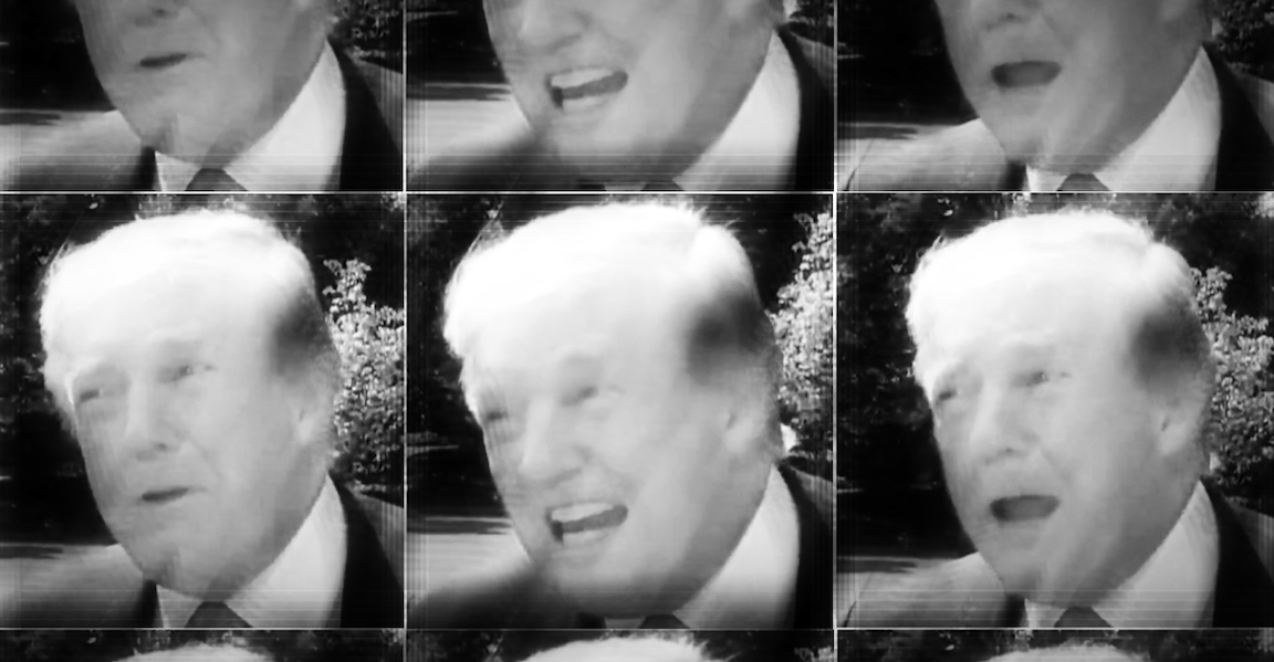 'I Am The Chosen One': Trump Lets Loose In Wild Exchange With Reporters