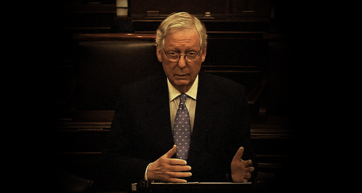 McConnell's Relent, Fast Times In Hong Kong & 'Civic Integrity'