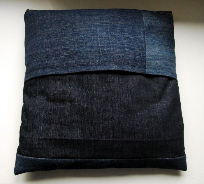 kissen aus jeans naehen, diy mach aus deiner alten jeans ein gute-laune-kissen, Design ideen