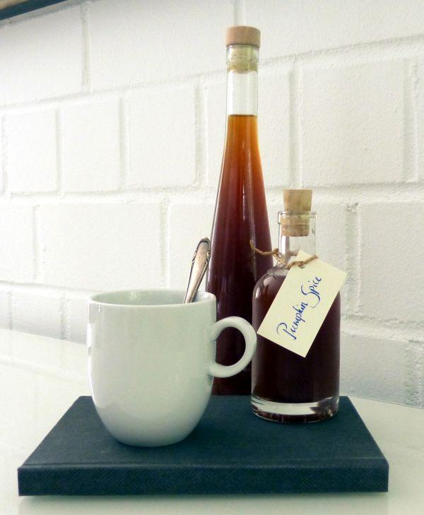 Kürbissirup für Pumpkin Spice Latte selbermachen