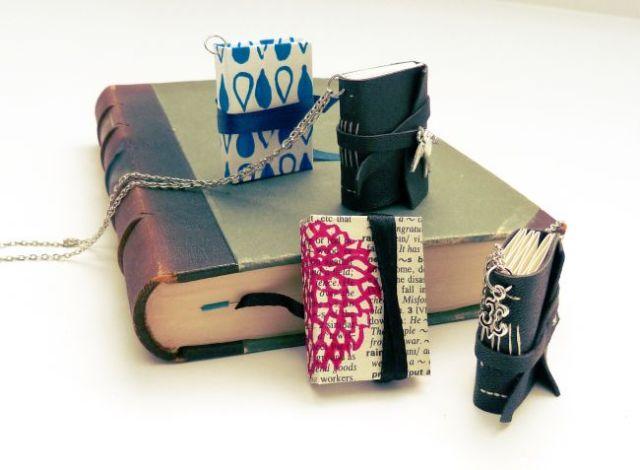 Minibücher auf Buch_klein