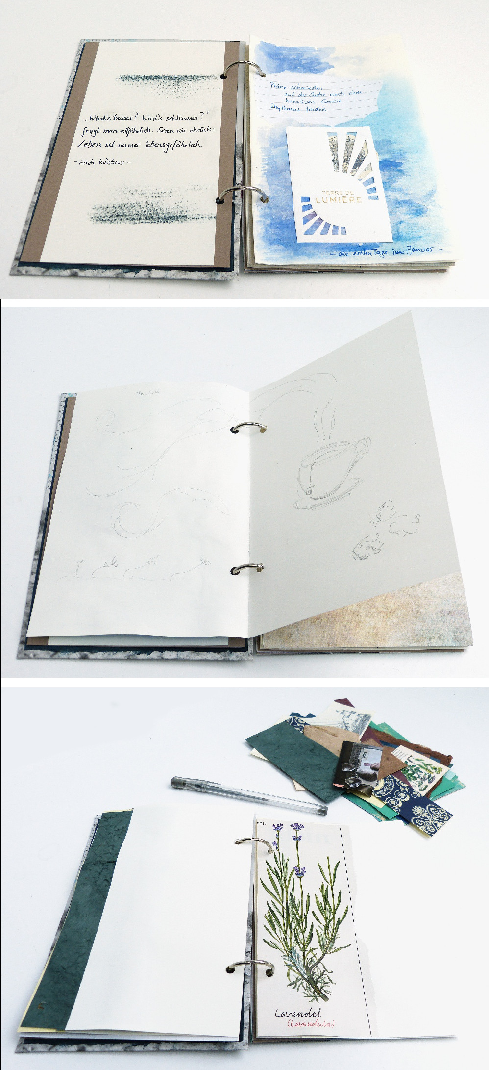 Mein Art Journal Jahresalbum