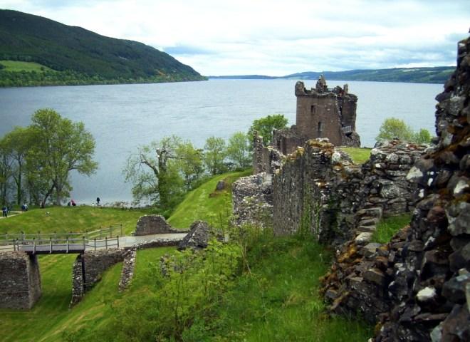 Ganz typisch Schottland-Loch Ness