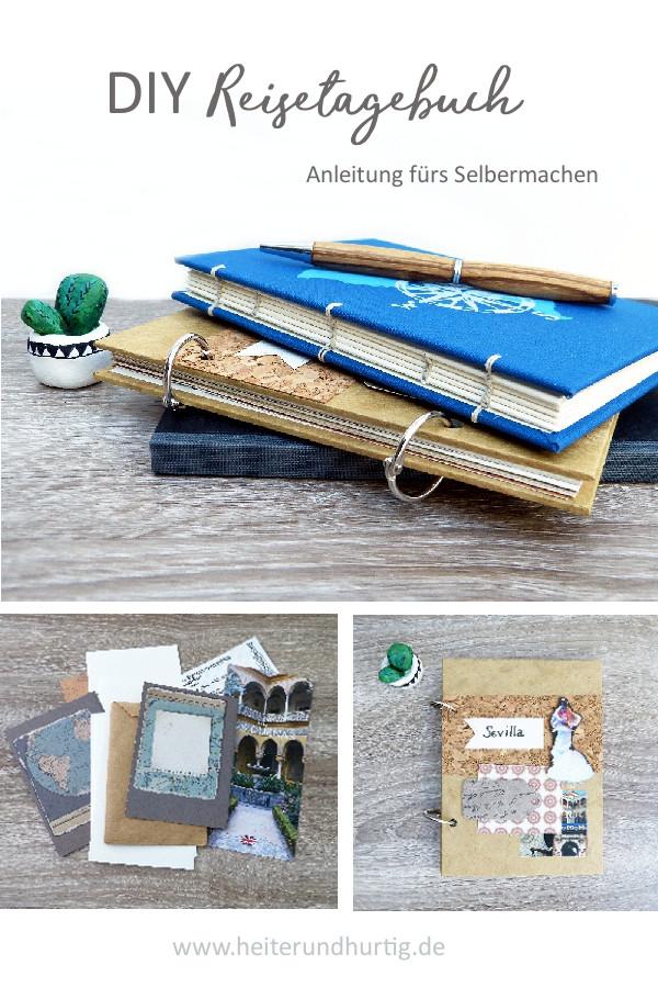 Anleitung für ein DIY Reisetagebuch
