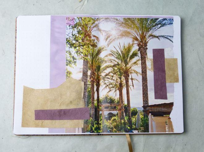 eine Collage fürs Art Journal erstellen