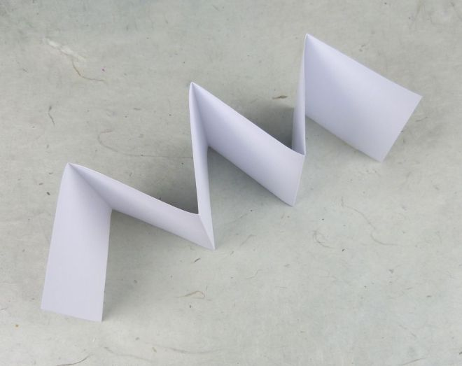 Leporello Grundform