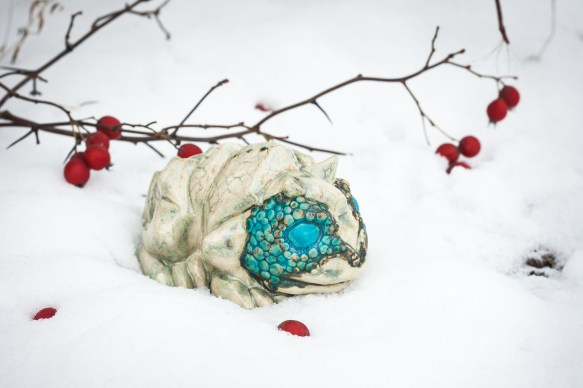 Toad of the North. 2016. Ceramic