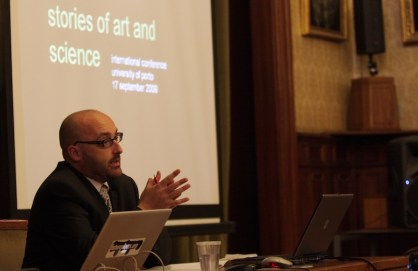 2009. Opening Address @ Stories of Art and Science. Nomadic'0910, University of Porto (PT).