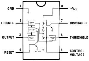 circuito integrado 555 | EL MUNDO DE LA FISICA